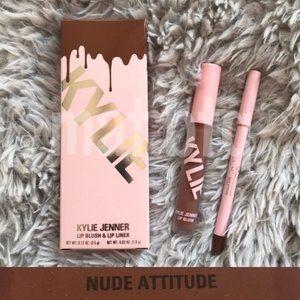 Kylie Cosmetics Lip Blush Kit Nude Attitude